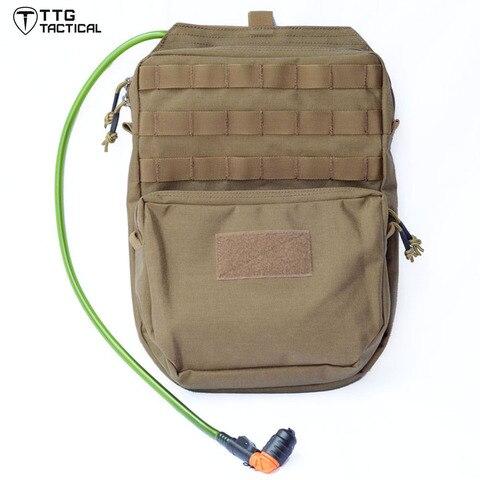 ttgtactical 3l molle hidratacao pacote mochila militar hidratacao bexiga transportadora 1000d