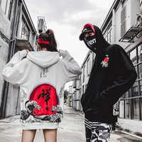 Newautumn/winter 2018 vrouwen baggy BF harajuku Chinese hip hop casual hoodies