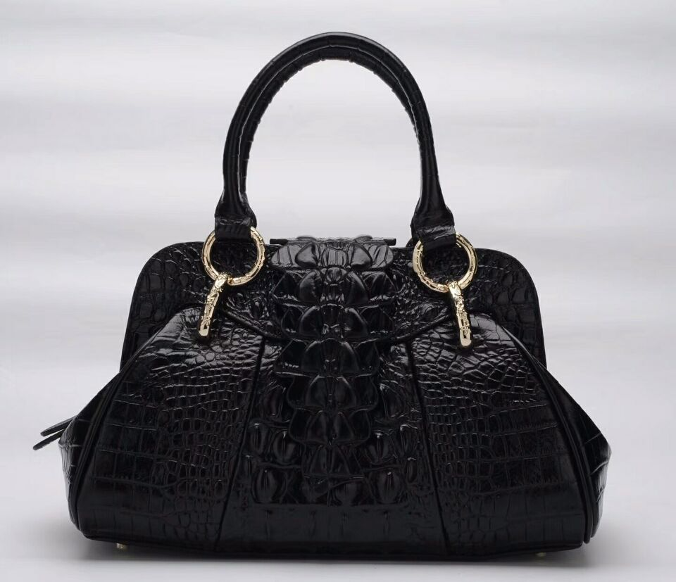 new arrival vintage crocodile pattern genuine leather women bag bfdadi 2018 new arrival hat genuine