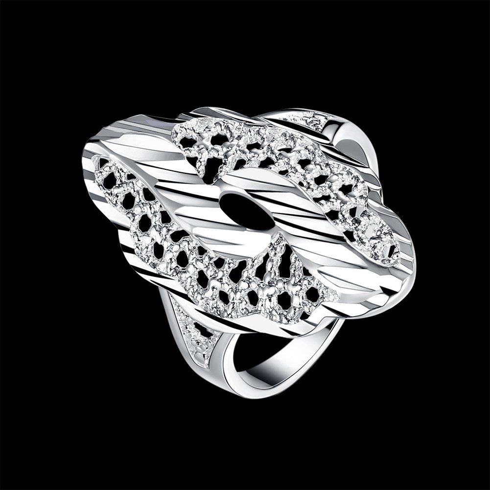 KITEAL Gorgeous silver plated size 6 7 8 9 engagement ring for female personality anillos to.us bear 2017 sport