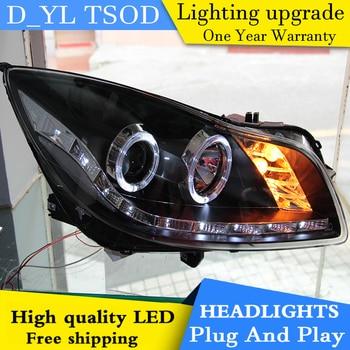 DY_L Car Styling Head lamp  for Buick Regal 2009-2012 LED Headlight DRL H7/D2H HID Xenon bi xenon lens
