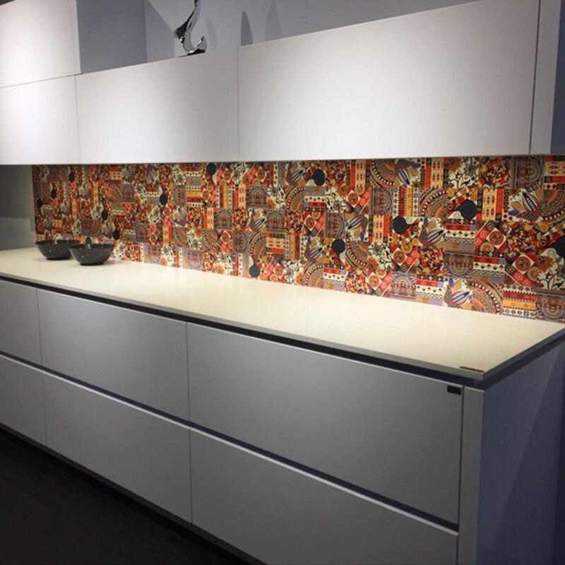 Mooi Zelfklevende Muur Aangebracht Keuken Stok Woonkamer Tv Slaapkamer Decoratieve Muur Behang Wc Waterdichte Muur Plakken Tang Kaart Grondstoffen Zijn Zonder Beperking Beschikbaar