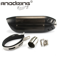Carbon Fiber 51mm Motorcycle Exhaust Muffler With DB KILLER For HONDA R1 R6 ZX 6R ZX