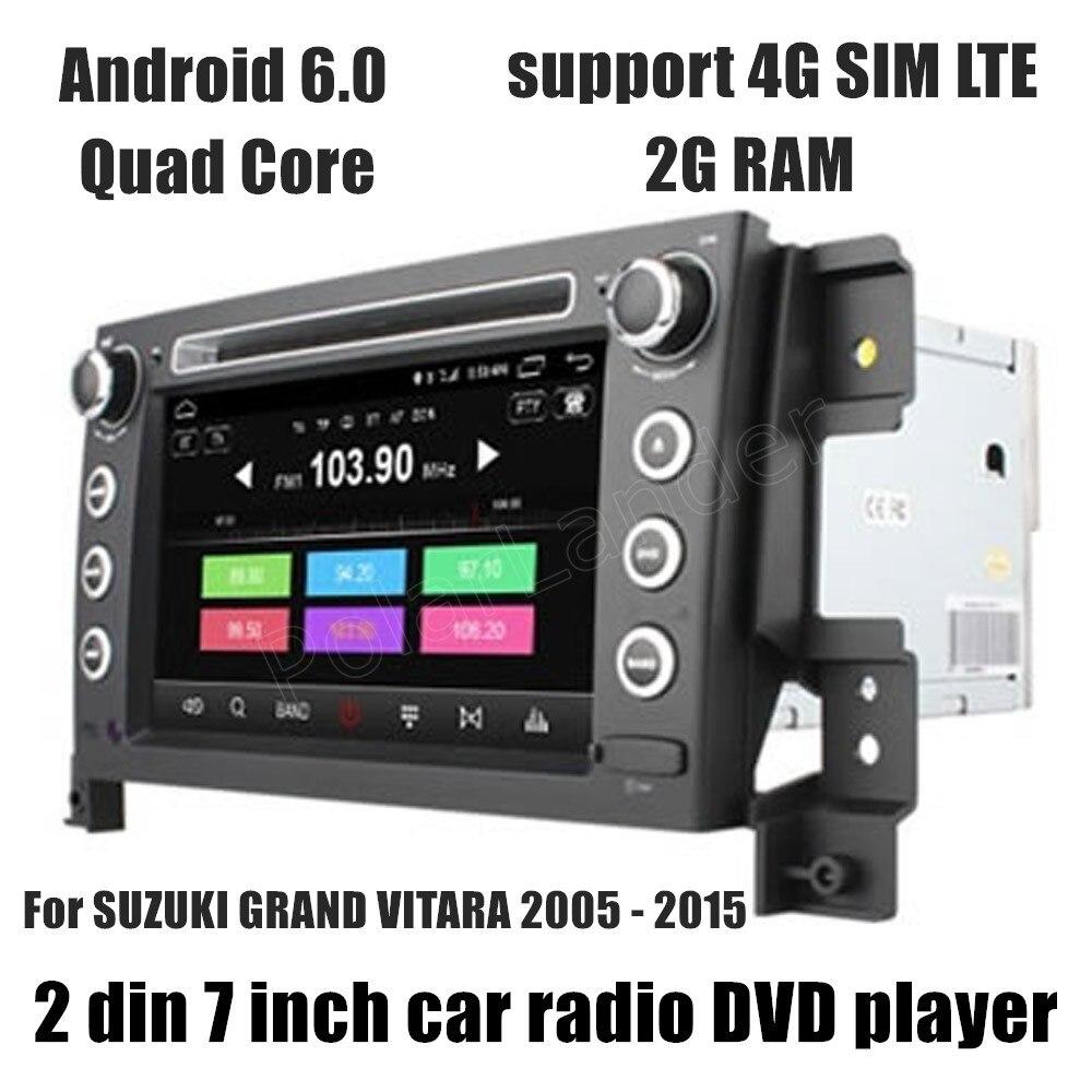 Для SUZUKI GRAND VITARA 2005-2015 Автомобиль DVD GPS Навигации Плеер поддержка камеры заднего вида с сенсорным экраном