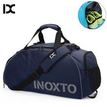 Sports Gym Bags font b Fitness b font Backpack Shoulder Bag For Shoes Travel Men Women