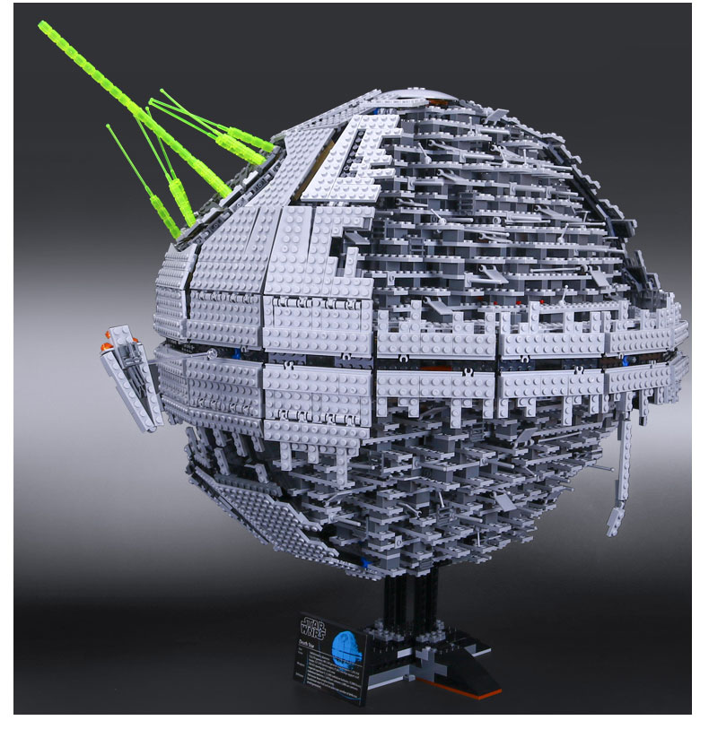 MOC LEPIN 05026 3449Pcs Death Star II Model Building Kits Blocks Bricks Compatible Chilsren Toys Gift With 10143 free shipping lepin 2791pcs 16002 pirate ship metal beard s sea cow model building kits blocks bricks toys compatible with 70810