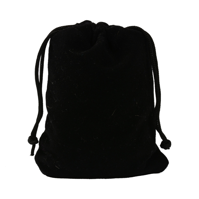 Us 26 69 18 Off 3sizes 25pcs Jewelry Black Storage Bag 20x30cm Velvet Drawstring Pouches Wedding Gift Bags Ring Package In