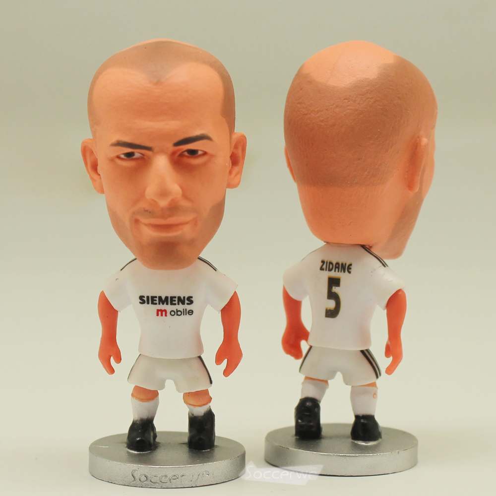 Star du football 5 # ZIDANE (RM-2005) 2.5 Action Poupées Figurine