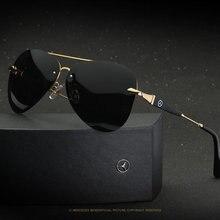 6000c8e66c Mark pilot project de Mercedes UV400 semi sans cadre lunettes de soleil  lunettes de soleil polarisées pour les femmes des hommes.