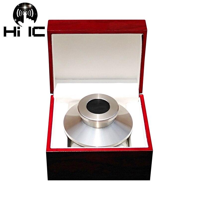 Tragbares Audio & Video Hohe-ende Pom Lp Vinyl Plattenspieler Disc Stabilisator Rekord Gewicht/clamp Plattenspieler Vibration Ausgewogene Mit Holz Paket Box