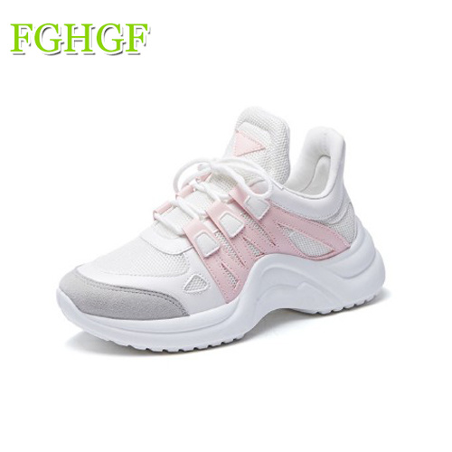 2018 Breathable Mesh Women Casual Shoes Vulcanize Female Fashion Sneakers Lace Up Soft Mesh Shoes Plus Size2018 Breathable Mesh Women Casual Shoes Vulcanize Female Fashion Sneakers Lace Up Soft Mesh Shoes Plus Size