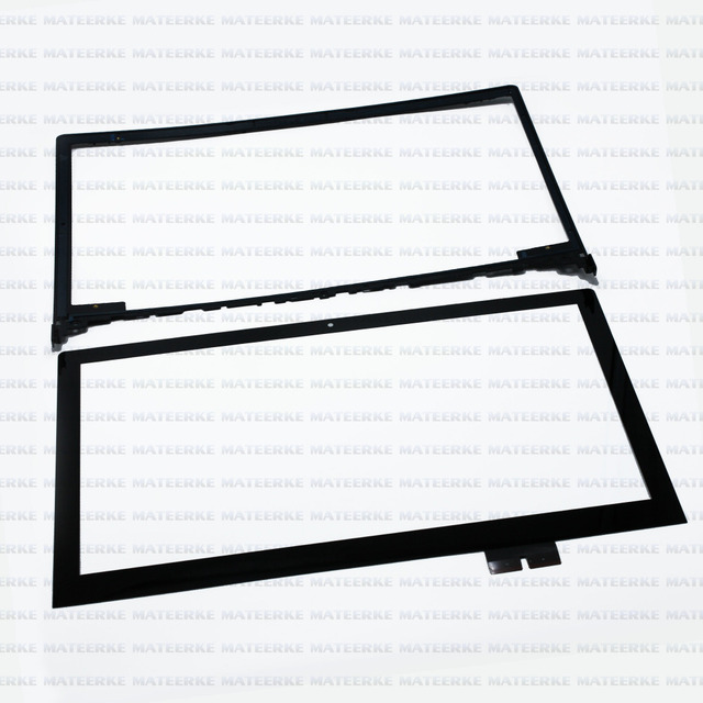 Envío libre para lenovo ideapad flex 2 15 20405 digitalizador touch reemplazo de cristal del panel con marco