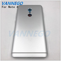 Vannego New Battery Door Back Cover Housing For Xiaomi Redmi Note 4 Metal Back Battery Cover
