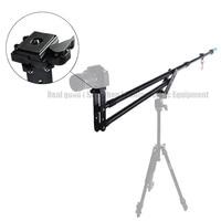 New 7.5ft Video Camera Jib Crane Telescoping Mini Portable Travel Jib Extension Arm Support Photo Studio Accessories for DSLR DV