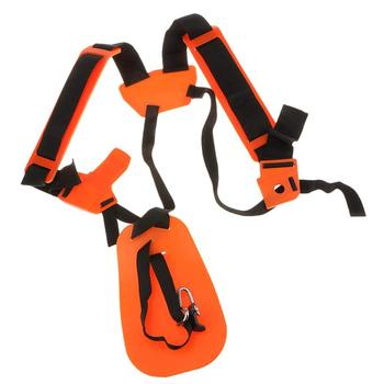 Universal Double Strap Harness For Brushcutter Trimmer double padded strimmer brushcutter harness quick release shoulder straps suits