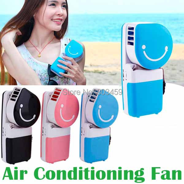 Mini Portable Table Electrical USB Cool cooling air Fan Hand Held USB and Battery Air Conditioning Fan 2016 year very hot sale new small apple design high quality battery operated min usb powered table fan cooling fan