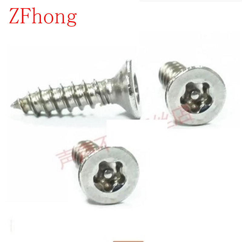 100pcs/lot  M3/M4/M5 Stainless Steel A2 Five point star flat countersunk head  torx self tapping screw 10pcs 433mhz restaurant pager call transmitter button call pager wireless calling system restaurant equipment f3291