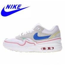 online store af91e 7269b Nova Chegada Original Nike Air Max 1 Pompidou Mulheres Tênis Novos Esportes  Ao Ar Livre Sapatos Respirável Amortecedor AV3735 00.