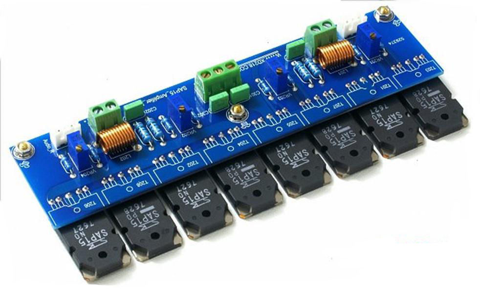 SAP15 Assembly 2X200W Current Zoom Board-amplifier