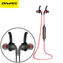 AWEI A960BL Bluetooth イヤホンワイヤレスヘッドフォンとマイクステレオスポーツヘッドセット fone のデ ouvido Auriculares(China)