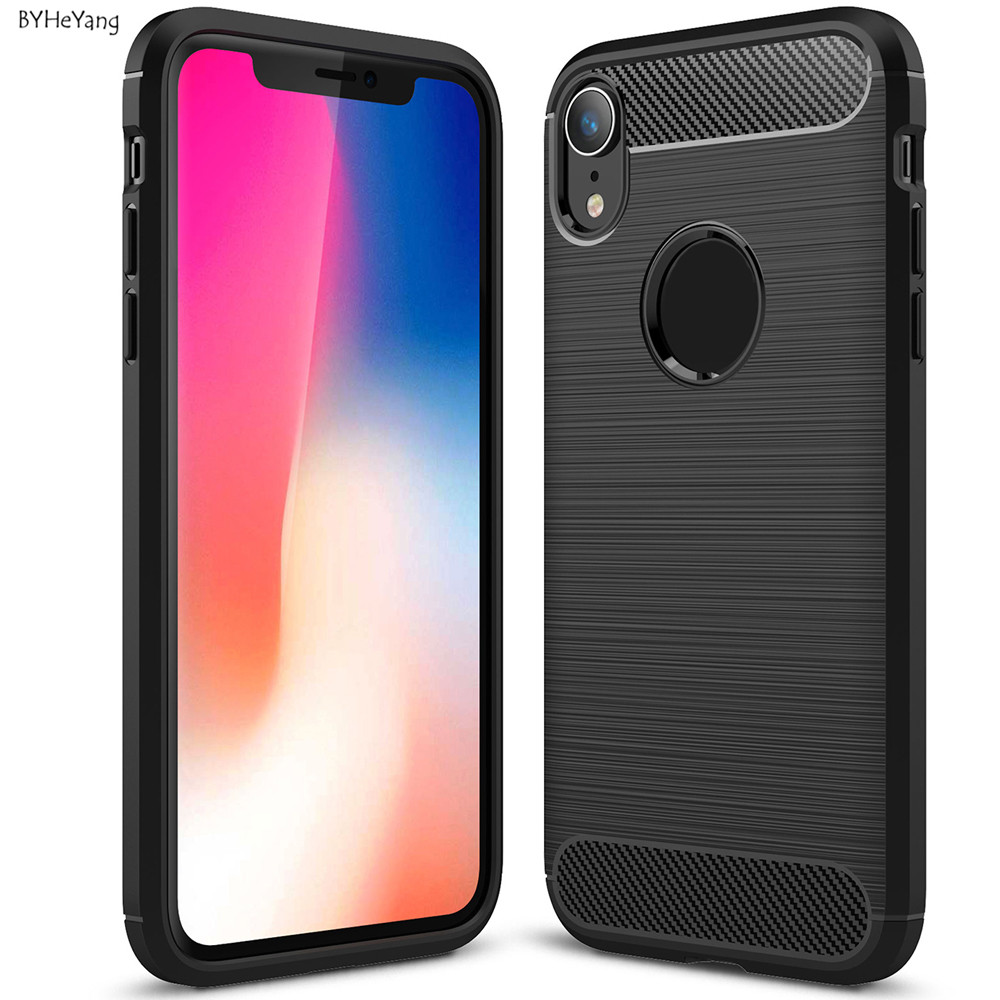 For iPhone XR Soft Silicone TPU Case For iPhone XR Back
