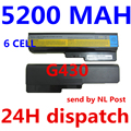 5200 mah batería para lenovo 3000 g430 g450 g455 g530 g550 l08o6c02 l08s6c02 lo806d01 lo8n6y02 42t4729 42t4730 l08s6c02 l08s6y02