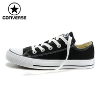100 Genuine Classic Men S Shoes Converse Canvas Shoes To Help Low Converse Shoes Women Canvas
