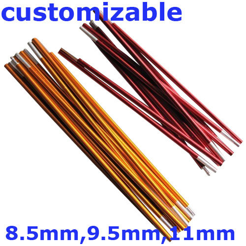 (8.5mm 9.5mm 11mm) Customizable Arc Tent Rod 7001 .  sc 1 st  AliExpress.com & 1 Piece Outdoor Camping Tent Pole Connector Aluminum Alloy Tip ...