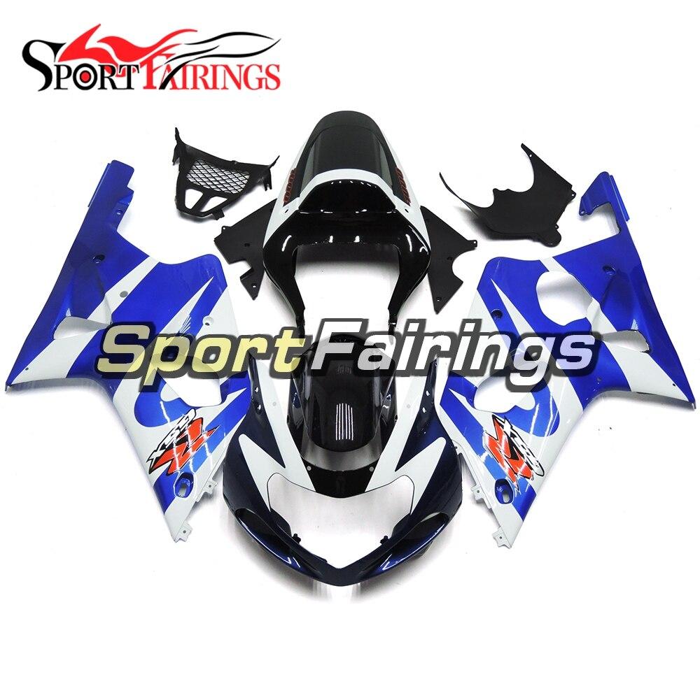 Цвет: черный, синий капот для Suzuki GSXR1000 GSX-R1000 K1 K2 00 01 02 2000 2001 2002 ABS Пластик мотоцикл Полный Обтекатель Наборы кузов