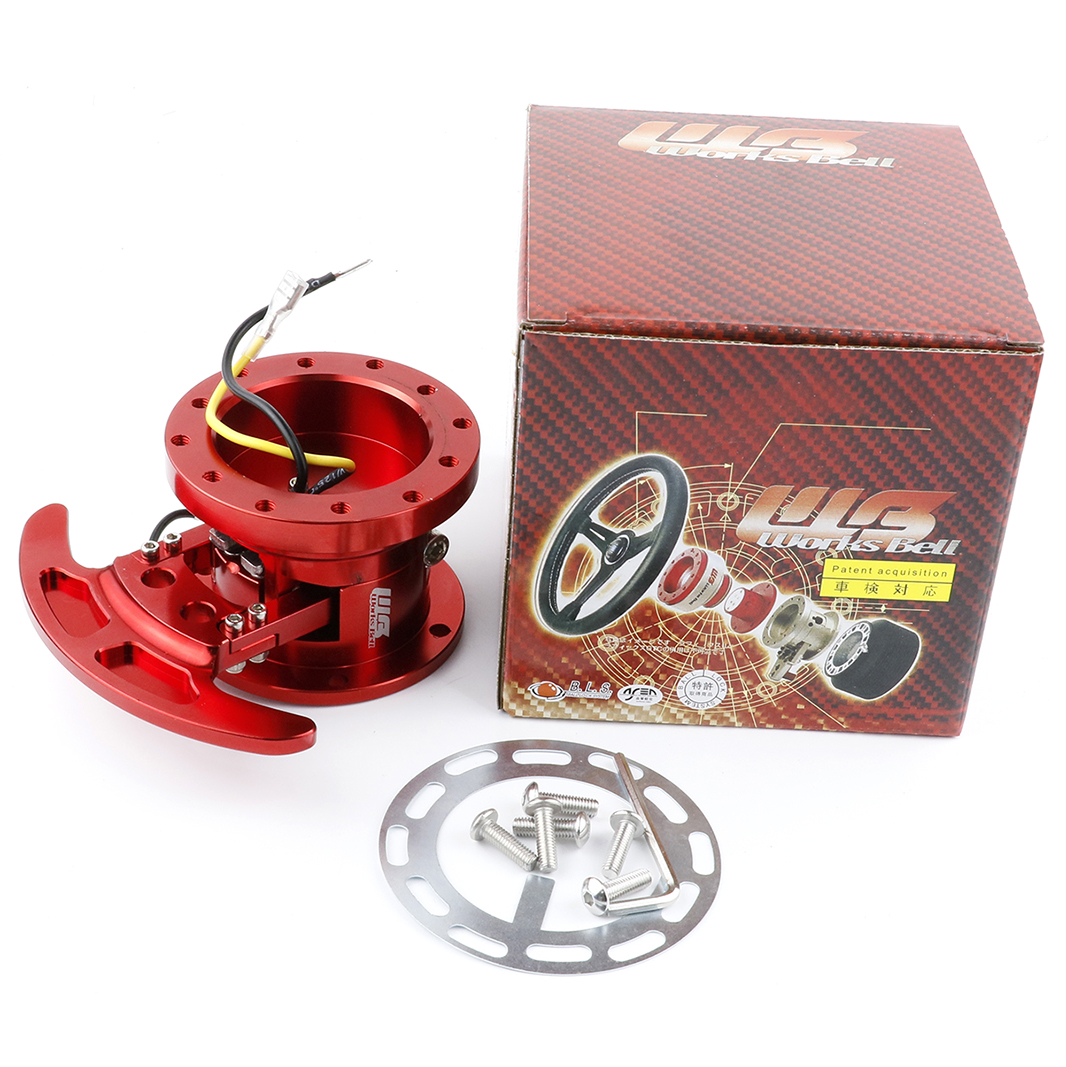 WORKS BELL Racing Steering Wheel Quick Release Hub Kit Adapter Body Removable Snap Off Boss Kit