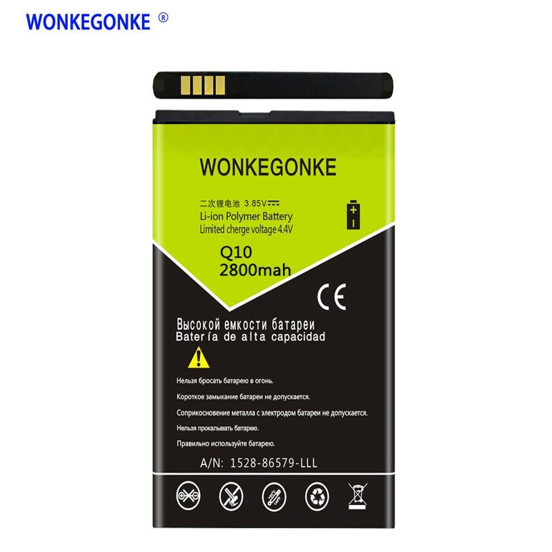WONKEGONKE ACC-53785-201 BAT-52961-003 NX1 for Blackberry Q10 Battery Q10  LTE / Q10 LTE SQN100-1 mobile phone battery