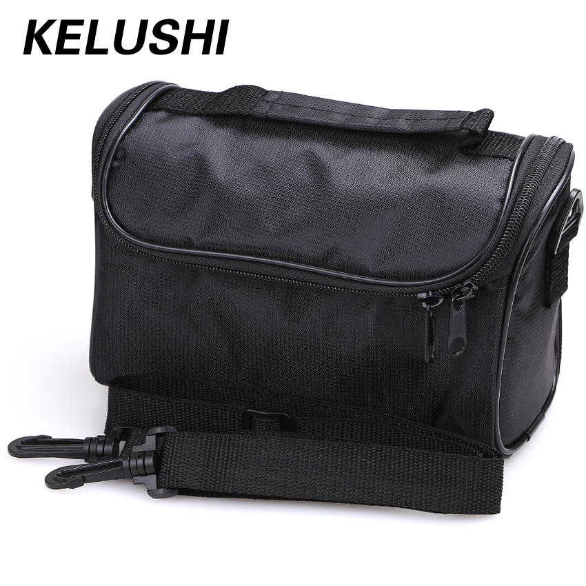 KELUSHI Fiber Optic Tool Black Empty Bag FTTH Special Tool Kit Fiber / Hardware / Network Tools