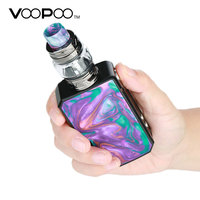Voopoo Drag 2 177W TC Kit with 5ml/2ml Uforce T2 SubOhm Tank Powered By Dual 18650 Battery Vape Vaporizer Electronic Cigarette