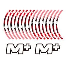 KODASKIN Decal Big Wheel Rim Motorcycle 2D Emblem Round Sticker for NIU M+ недорого