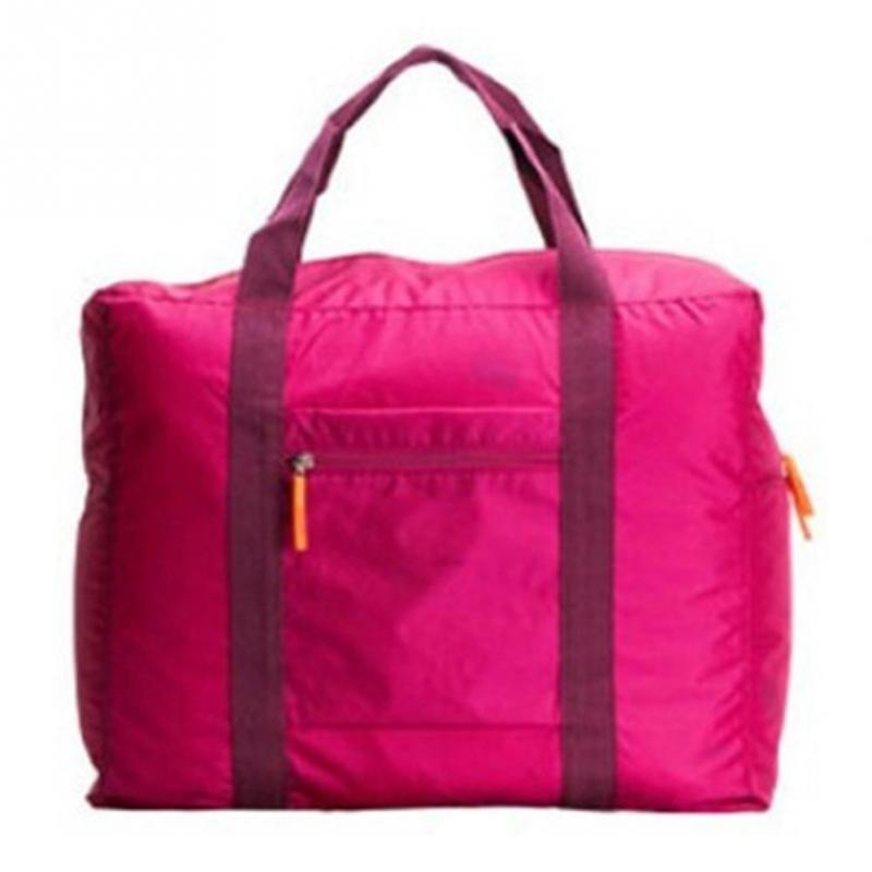 Fashion Travel Bag Collapsible Nylon Travel Bags Unisex Waterproof Business Trip Traveling Bags