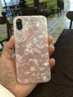 Роскошный Мраморный гранитный Чехол под камень для iPhone X мягкий TPU чехол для iPhone 7 8 чехол силиконовый чехол для телефона