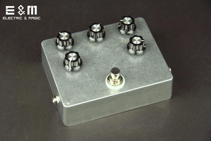 DIY MOD Zvex Box of Metal Pedal Electric Guitar Stomp Box Effect Amplifier AMP Acoustic Effectors Accessories