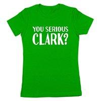 Gildan You Serious Clark Funny Christmas Movie Ugly Sweater Party Classic Xmas Holiday Humor Mens Shirt