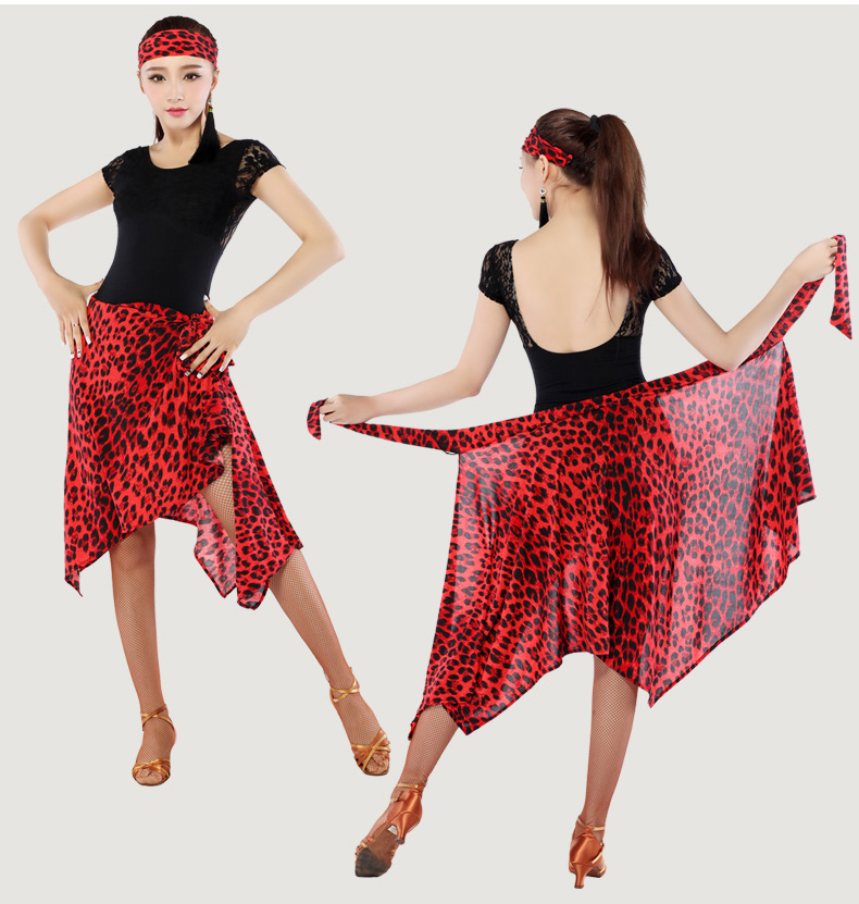Latin Dance Skirt For Women Training Professional Sumba Dancing Scarf Skirt Adult Stage Rumba Qia Qia Latin Dress 11 Colors New