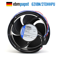 NEW ebmpapst PAPST 6318N/2TDHHPU 17250 48V 43W IP68 waterproof cooling fan