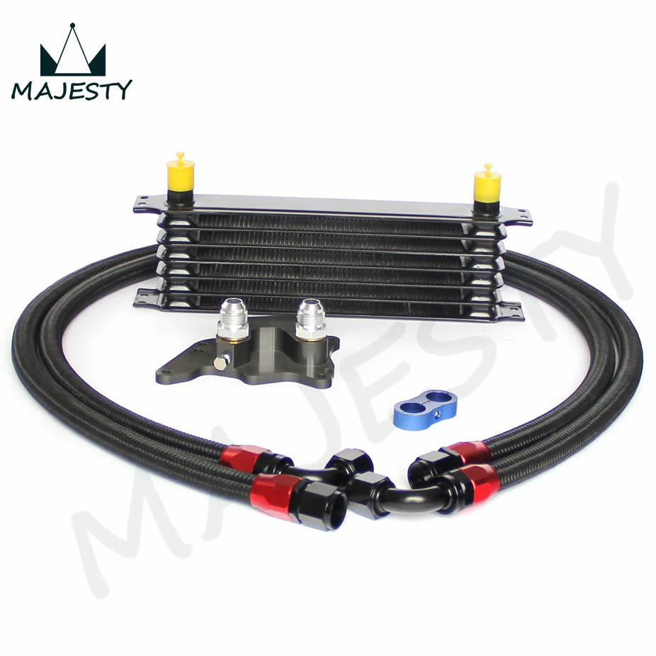 25row Engine Oil Cooler Relocation Kit For Bmw Mini