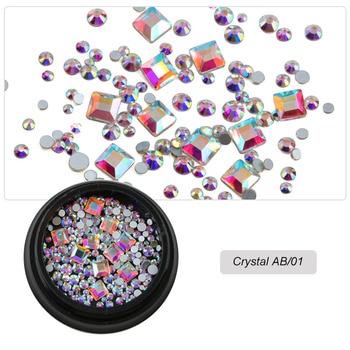 Διακόσμηση νυχιών diverse diy crystals