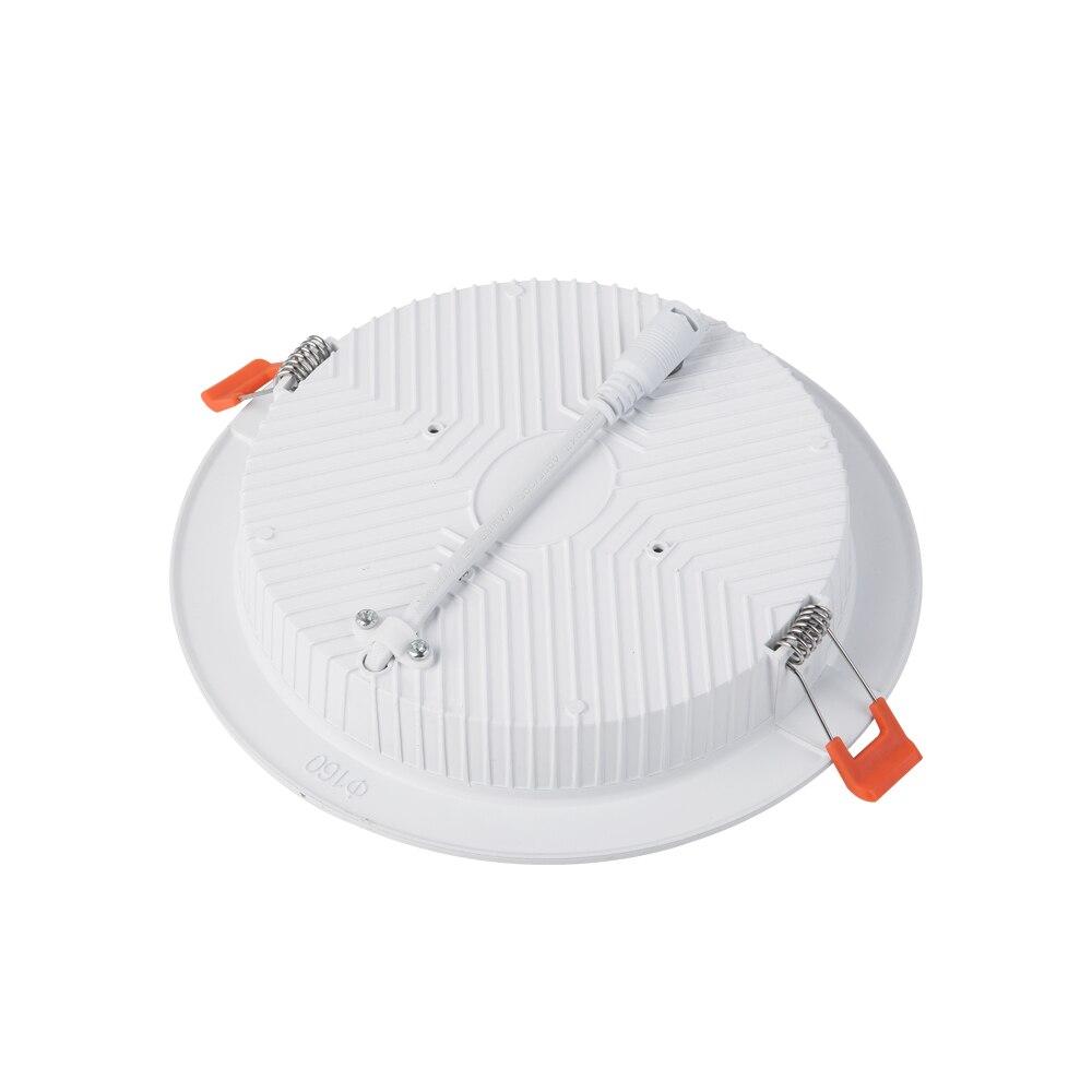 HuaXinV 1 pcs 6 Inch Slanke LED Downlight met Junction Box, 12 W, 1000 LM, Dimbare, 3000 K Zacht Warm Wit, Verzonken Jbox Armatuur