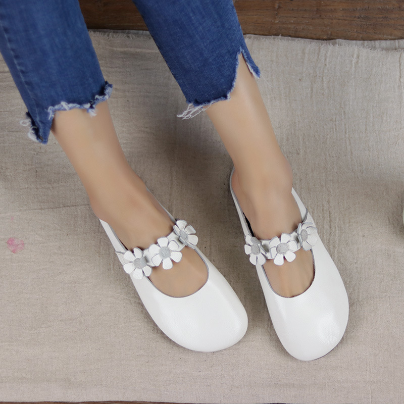 Authentique Lace Plates 1 3 Toe Dames Up Plaine Femme Appartements 100 Mocassins Femmes Cuir Chaussures 2 5AwqA0I