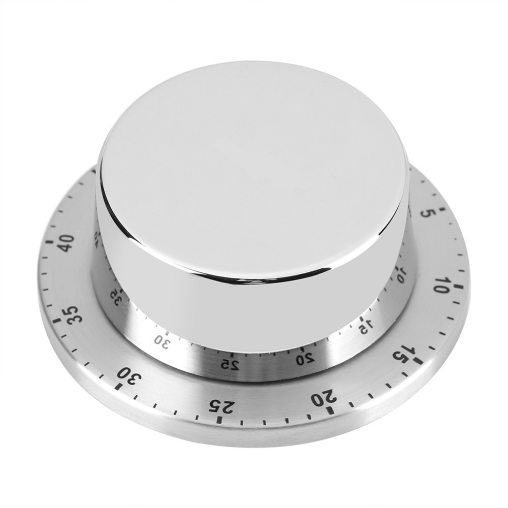 KHTO Stainless Steel Dome Shape Kitchen Timer 60 Minutes Countdown ...