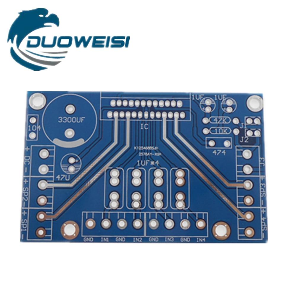 TDA7388 Four Channel 4X41W PCB BoardTDA7388 Four Channel 4X41W PCB Board