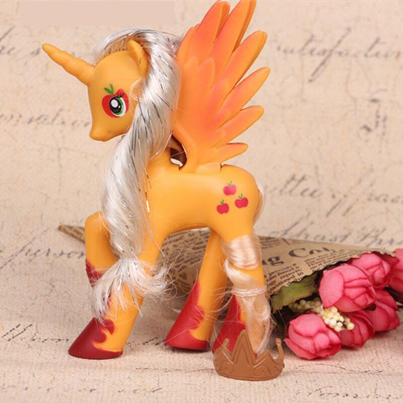 14cm My Little Pony Toys Friendship is Magic Pop Pinkie Pie Rainbow Unicorn Pony