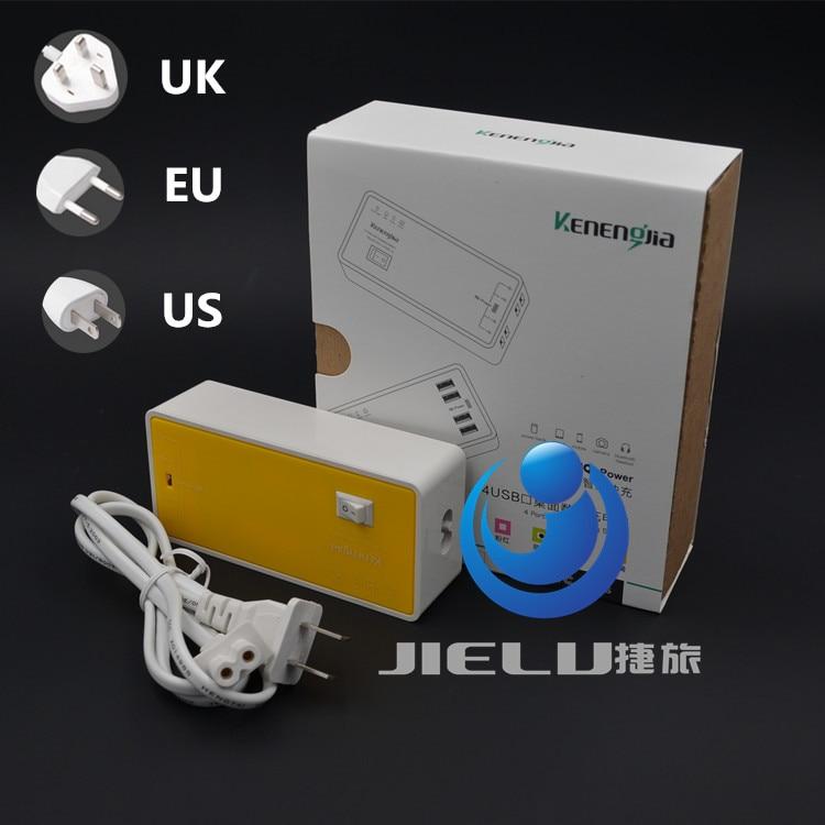 2016 Universal 4 Port Portable USB Hub Desktop 5V 4A Wall Charger Multi Port Rapid Adapter EU US UK Plug For iPhone iPad Samsung lvsun 120w 5v 24a high speed universal desktop 10 port usb charger for ipad iphone 6s 6 5s 5 4s galaxy nexus htc moto