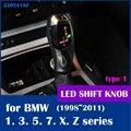 X6 стиль с подсветкой LED рукоятка рычага переключения передач для BMW E46 E39 E60 E90 E92 E82 E87 E38 E53 E83 E84 E86 E89 1998 2011