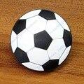 Lindo fútbol soccer suave muebles manijas orificio de perilla para puertas de armarios de cajones